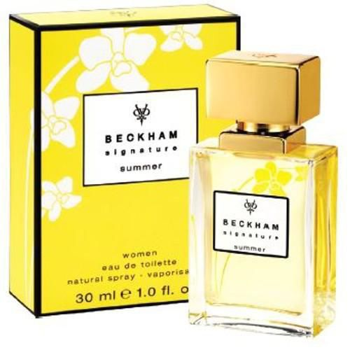 David Beckham Signature Summer 2011 For Her EdT