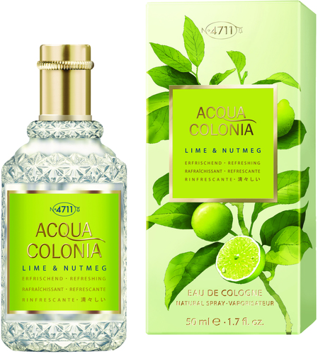 4711 Acqua Colonia Lime & Nutmeg EdC