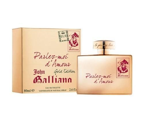 John Galliano Parlez-Moi d'Amour Gold Edition EdT
