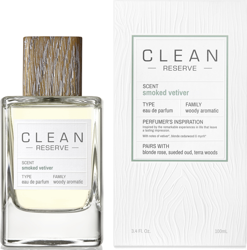 Clean Smoked Vetiver EdP
